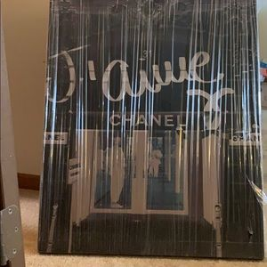 "Brand new Oliver Gal canvas. ""J'aime Chanel""."